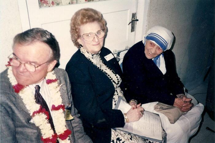 Fulton + Huldah + Mother Teresa